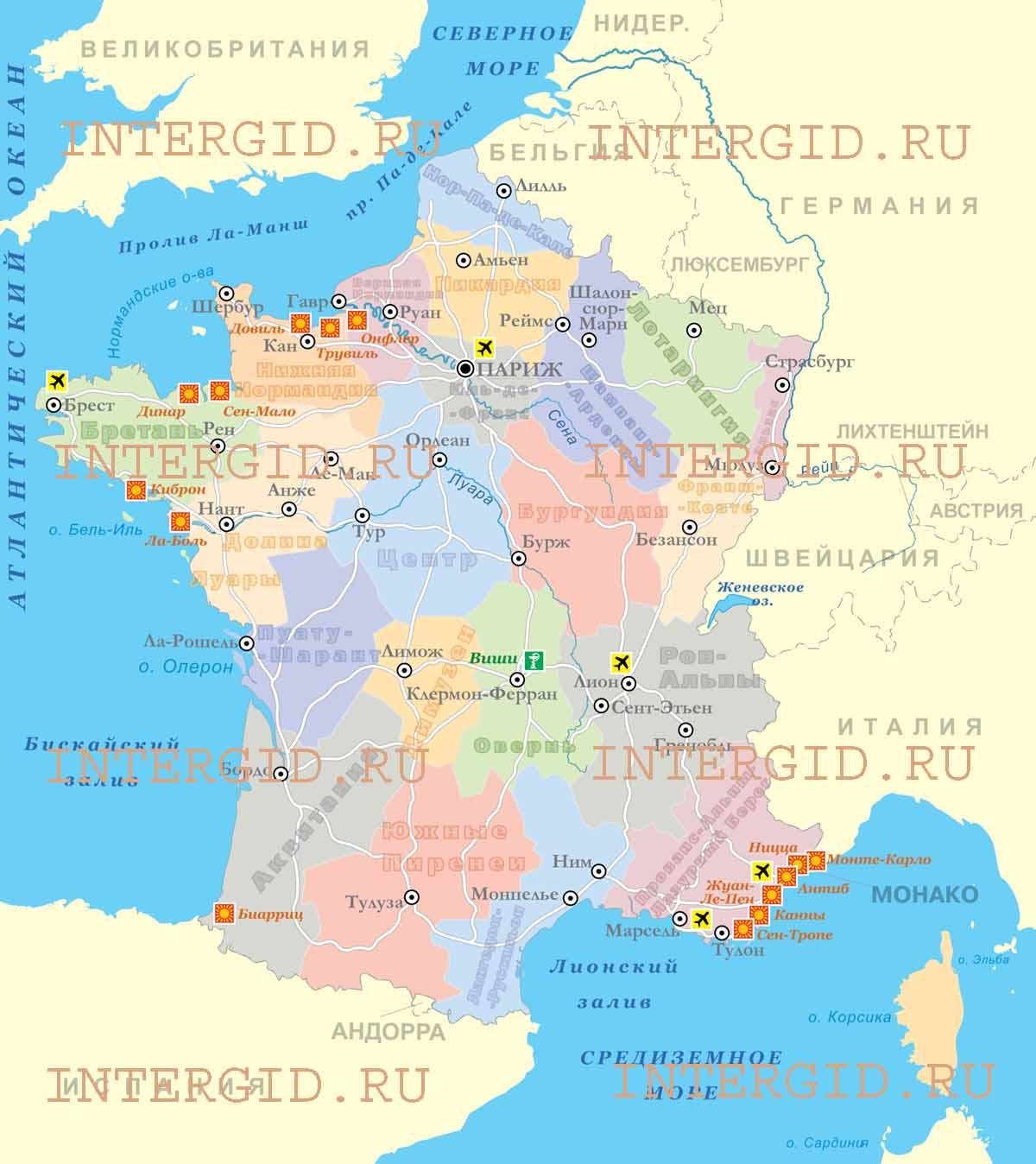 Туры во францию отдых во франции с