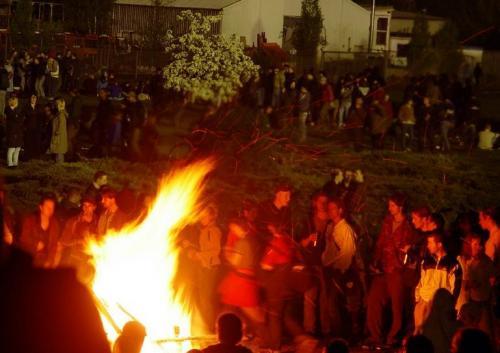Праздники и фестивали Швеции: Вальпургиева ночь
