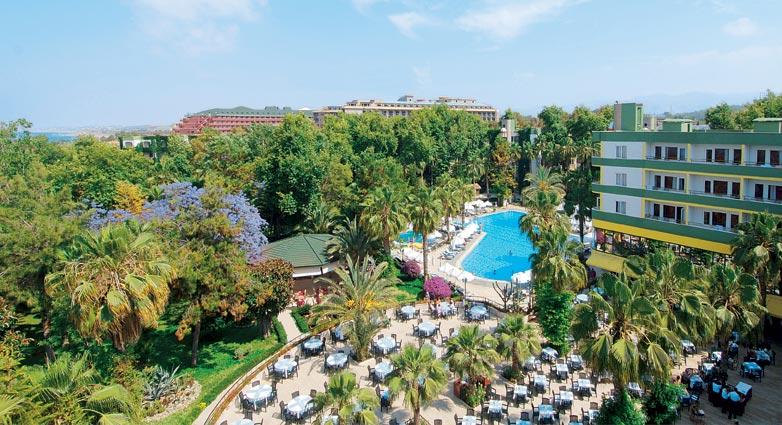 Турция алания отель hotel botanik world of paradise
