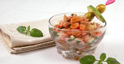 Ингредиенты: крабы очищенные - 500 г сок томатный - 1/3 стакана вино...